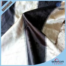 2015 Popular sofa upholstery fabric 100% polyester flocked sofa fabric