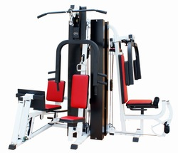 5 station multi gym exercise fitness sports equipment
