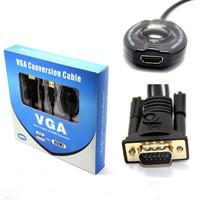 High Quality Audio + VGA toHDMI 1080P Converter/Adapter Cable For Desktop Laptop DVD TV Box Player Video Camera