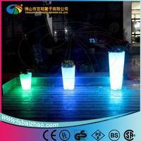 LED light color change Plastic Led Pot / Led Pot Light