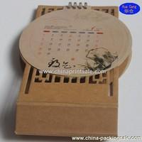 2015 All kinds of wooden monthly desk calendar on sale