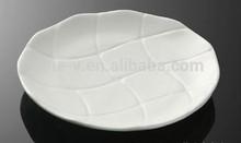 Concave design disc daily strengthen porcelain