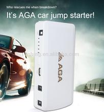 Multi-function jump starter AGA car backup power+mobile power +flashligh and torch