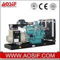 Ce iso& certificateds!! Wuxi china 3 fase de ca generador con motor wandi