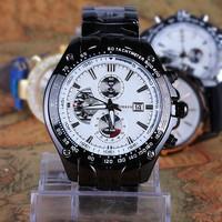 2015 hot new fashion waterproof chronograph vogue watches men