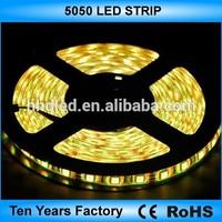 12V 60leds/m SMD 5050 waterproof rgb led strip lighting