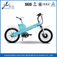 Haoling EN15194 20inch lightweight electric dirt bike sale middle motor
