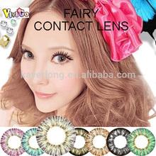 cheaper korea style 1 year 4 tone color contact lensmix FAIRY gray