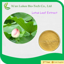 2015 Extract of crown of Lotus Leaf Natural plant extract Nelumbo Flavone Nelumbo Alkaloids 2- 5% Lotus Leaf Extract Powder