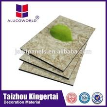 Alucoworld Fire-Proof Featured Aluminum Composite Panel copper clad aluminum wire