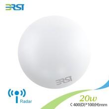 2015 new high brightness Functional ceiling light:radar induction 20W 75lm/w CRI>70 ceiling led lamp light