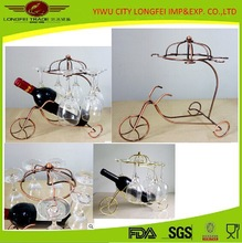 Household Articles Wall Mounted Hanging Wine Glass Rack