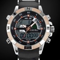 wholesale chinese brand dual time digital watches