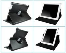 Rotating 360 Degree Leather Case Cover for iPad 5 litchi leather skin