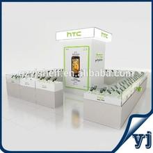 Novel Design Cell Phone Display Showcase,Mobile Phone Kisok Design, High Quality Cell Phone Display Showcase Design
