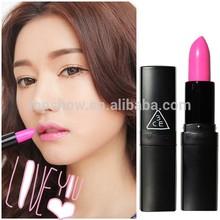 Korean brands 3CE black tube Lipstick 15 colors for choose