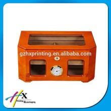 Popular Wood Box Cigar Case With Clear Lid Tobacco Box