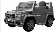 Licensed mercedes benz SLS ride on toy car