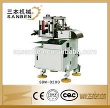 1000x900x1270mm SanBen brand (SBM-D200) automatic sticker cutting machine, label die cutter with rewinder
