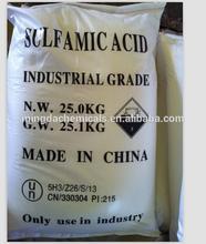 industrial grade 99.5%sulfamic acid