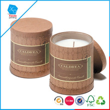 Wholesale top grade popular lid gift candle box with competitive price
