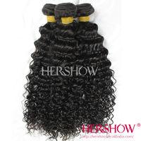 unprocessed human hair bulk brazilian tight curly hair