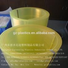 PU plastic Polyurethane machined sheet/board/part factory