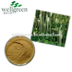 High quality Black cohosh extract 2.5%~5% Triterpene glycosides Black cohosh extract