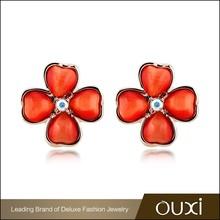OUXl bulk sale fashion austrian crystal stud earrings wholesale