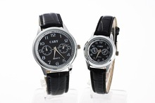 Alibaba Express hot selling 2015 brand watches for young people, leather watch strap couple lover wrist watch at cheap wholesale