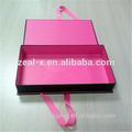 100% cotone mens lusso camicia a maniche lunghe casual scatole, scatola con colore personalizzato