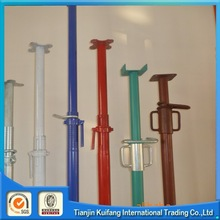 high quality hot dipped galvanized scaffolding shoring post pros jack