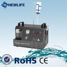 2015 Multifunctional oxygen jet machine/ skin galvanic spa jet peel 3/lead concentrates