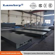 OIML 50 ton 60 ton ground scale for industrial