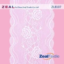 Nylon Spandex Elastic Jacquard Lace For Lingerie