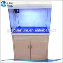 CR820 White With Bottom Box Fish Tank Put In Home Aquarium Furniture
