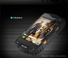Mann Zug3 4'' 0.3mp+5mp Android 4.3 IP68 waterproof GPS custom android mobile phone
