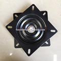 147mm revestimento em pó preto placa giratória banqueta base/turnable peças de cadeira giratória