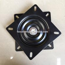 147mm black powder coating swivel plate barstool base/turnable swivel chair parts
