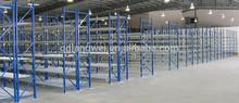 long span storage shelving multi layer