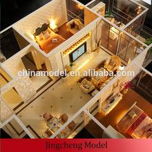 3d architectural interior model making