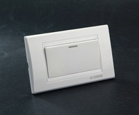 hot polo alibaba made in china switch white PC material ligh electrical wall 1 gang 1 way switch