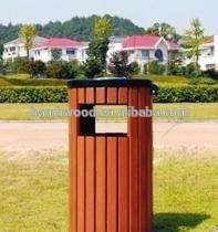 WPC Outdoor Dustbin For Garden Anti And Waterproof