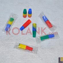 eciga multi color covers cap for atomizers factory price disposable atomizer wholesale exgo w3