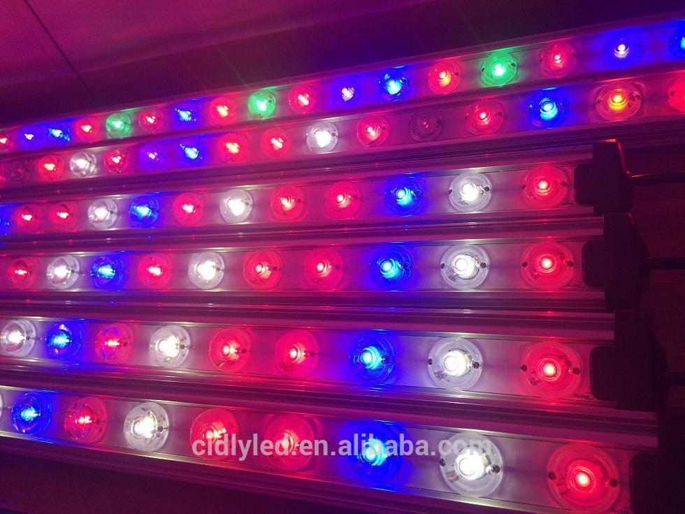 4ft led grow light bar waterproof vertical garden led grow light bar. Black Bedroom Furniture Sets. Home Design Ideas