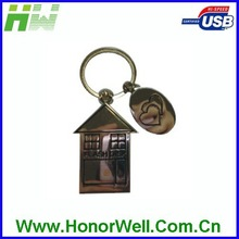 House Metal 8GB Usb Flash Memory Pen Drive