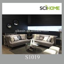 2015 new turkish sofa furniture 3+2 with velvet fabric