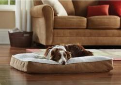 Animal Planet luxury Memory Foam Sherpa Pet Bed