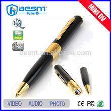 Besnt top sale security HIDDEN pen camera with audio function BS-723