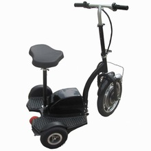 350w/500w 2 wheel self balancing electric scooter 3 wheels with removable seat